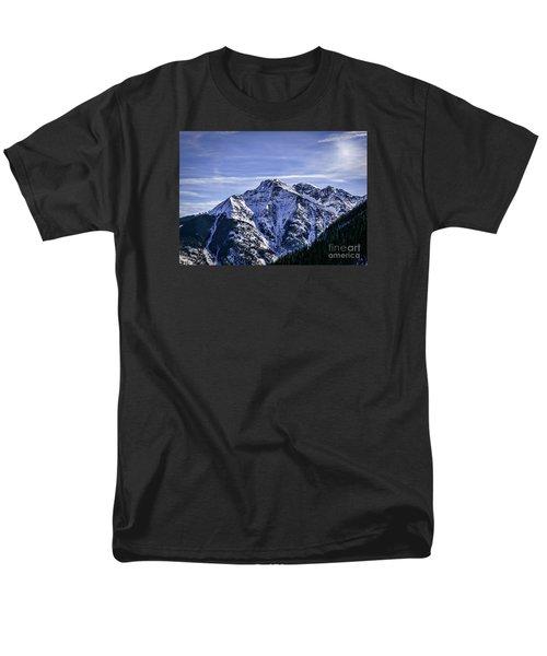Twilight Peak Colorado Men's T-Shirt  (Regular Fit) by Janice Rae Pariza