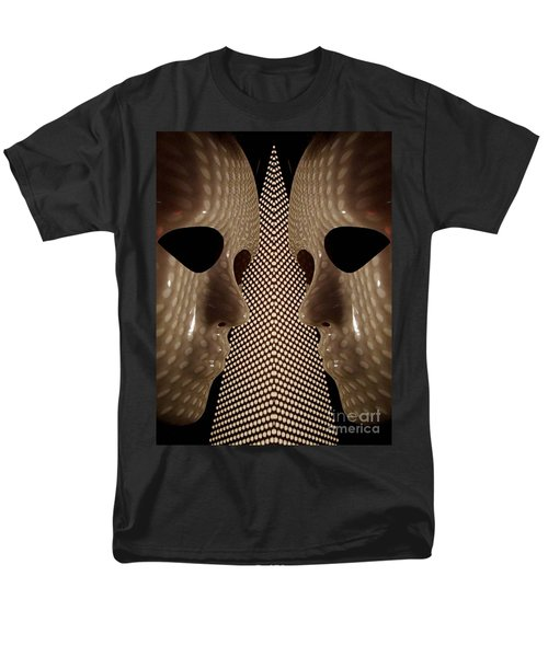 Men's T-Shirt  (Regular Fit) featuring the photograph Two Faced by Trena Mara