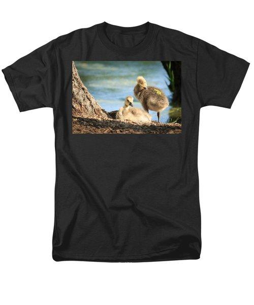 Two Little Goslings Men's T-Shirt  (Regular Fit) by Joni Eskridge