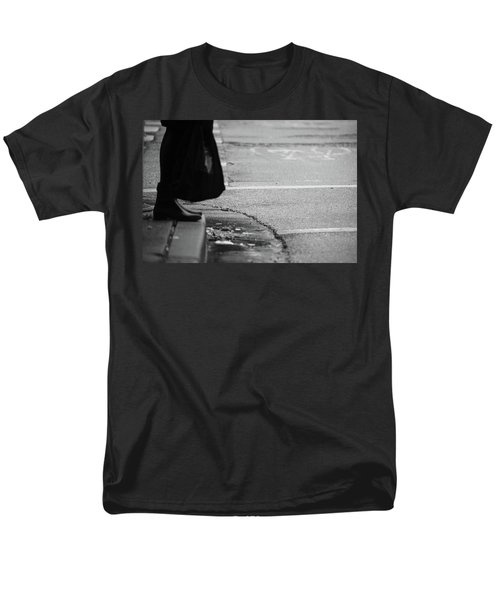 U Stopped Me On My Tracks  Men's T-Shirt  (Regular Fit) by Empty Wall