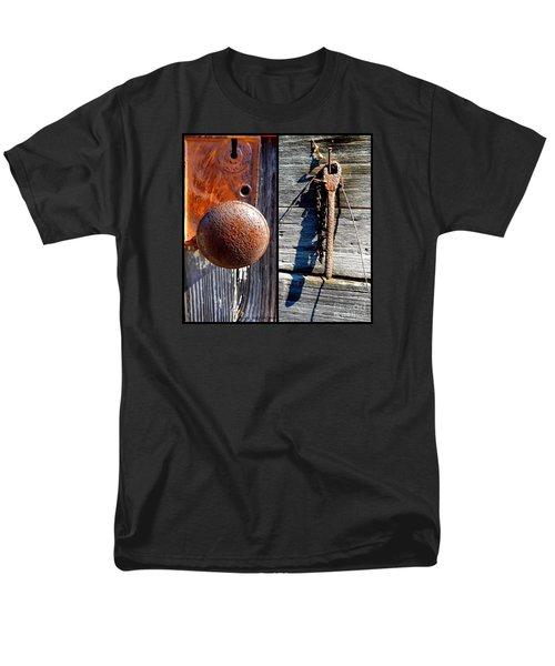 Under Lock And Key Men's T-Shirt  (Regular Fit) by Christy Ricafrente
