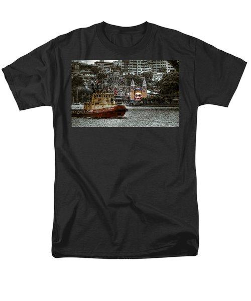 Under The Bridge Men's T-Shirt  (Regular Fit) by Wayne Sherriff