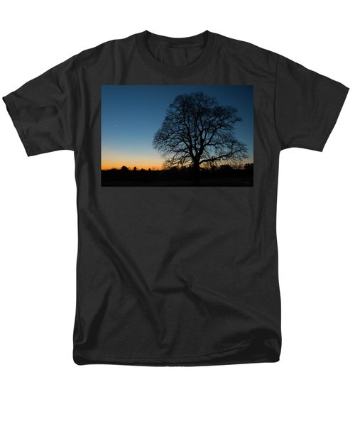 Men's T-Shirt  (Regular Fit) featuring the photograph Under The New Moon by Dana Sohr