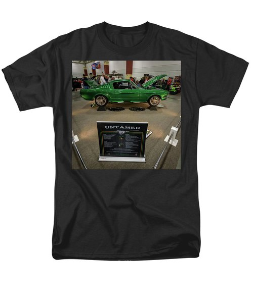 Men's T-Shirt  (Regular Fit) featuring the photograph Untamed by Randy Scherkenbach