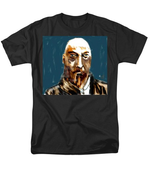 Men's T-Shirt  (Regular Fit) featuring the painting Ivan by Jim Vance