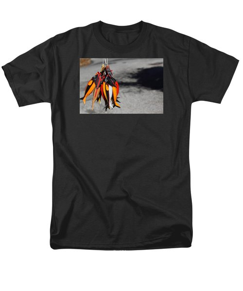 Men's T-Shirt  (Regular Fit) featuring the photograph Unusual Catch by Richard Patmore