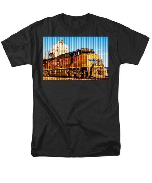 Up 5915 At Track Speed Men's T-Shirt  (Regular Fit) by Bill Kesler