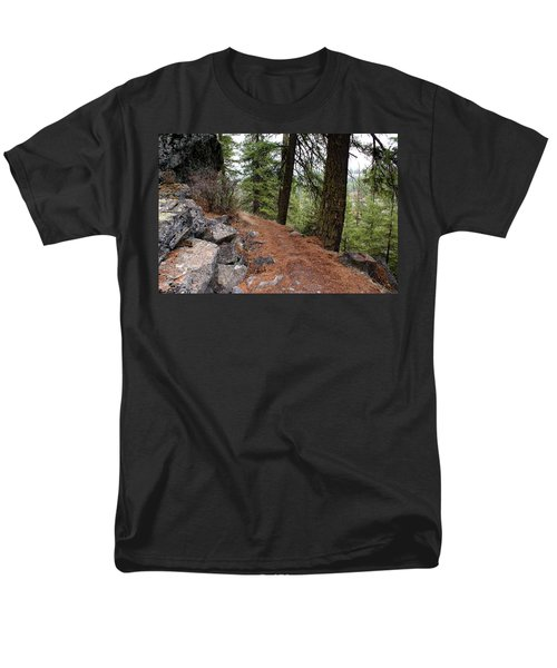 Men's T-Shirt  (Regular Fit) featuring the photograph Up Around The Bend... by Ben Upham III