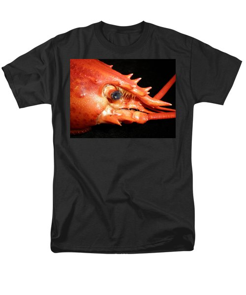 Up Close Lobster Men's T-Shirt  (Regular Fit) by Patricia Piffath