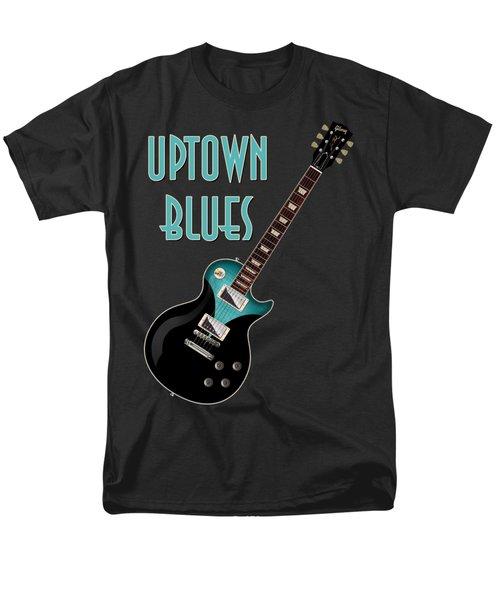 Uptown Blues T-shirt Men's T-Shirt  (Regular Fit) by WB Johnston