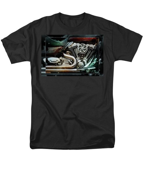 Men's T-Shirt  (Regular Fit) featuring the photograph V Twin by WB Johnston