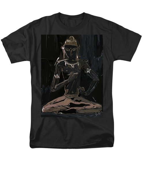 Men's T-Shirt  (Regular Fit) featuring the digital art Vajrasattva by Rabi Khan