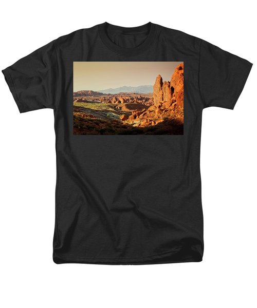 Valley Of Fire Xxiii Men's T-Shirt  (Regular Fit)