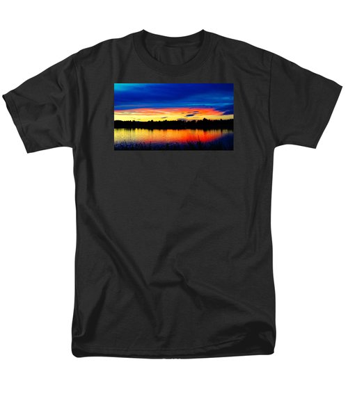 Vermillion Sunset Men's T-Shirt  (Regular Fit) by Eric Dee