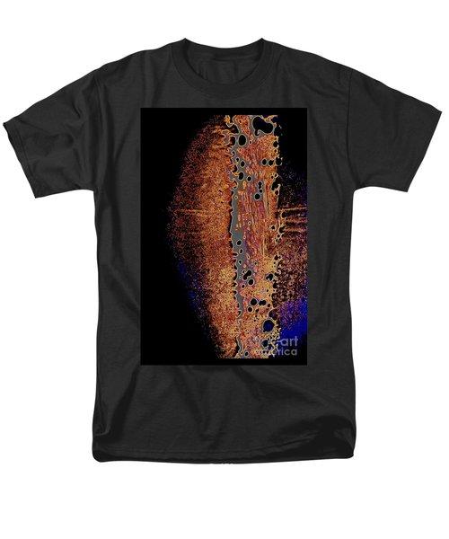 Vertical Abstract Men's T-Shirt  (Regular Fit)