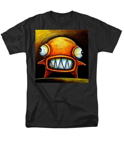 Very Scarey Glob Men's T-Shirt  (Regular Fit) by Leanne Wilkes
