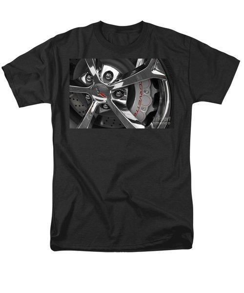 Vette Wheel Men's T-Shirt  (Regular Fit) by Dennis Hedberg