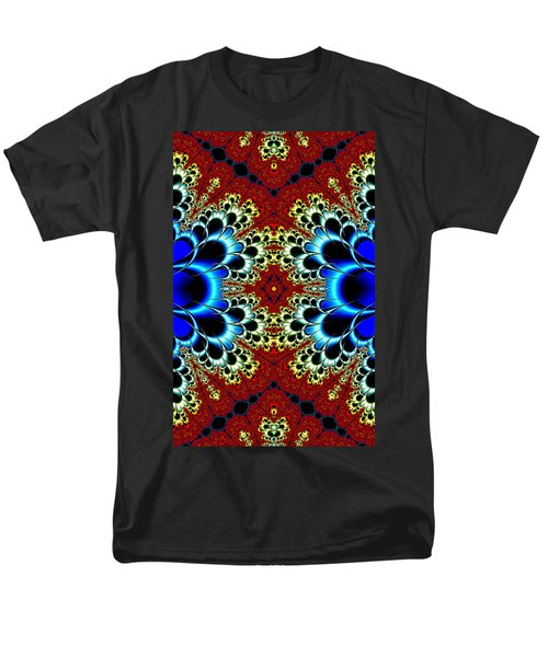 Vibrancy Fractal Cell Phone Case Men's T-Shirt  (Regular Fit) by Lea Wiggins
