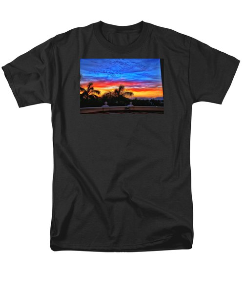 Men's T-Shirt  (Regular Fit) featuring the photograph Vibrant Sunset In Mexico by Nikki McInnes