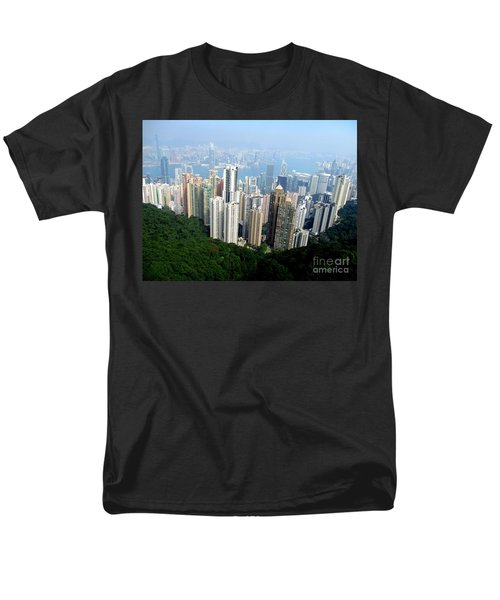 Men's T-Shirt  (Regular Fit) featuring the photograph Victoria Peak 1 by Randall Weidner