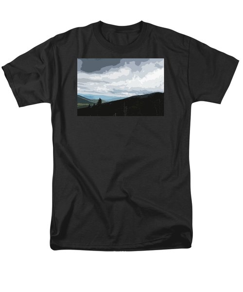 Men's T-Shirt  (Regular Fit) featuring the photograph View From Mount Washington II by Suzanne Gaff