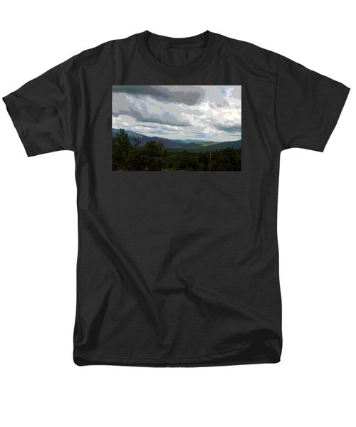 Men's T-Shirt  (Regular Fit) featuring the photograph View From Mount Washington IIi by Suzanne Gaff