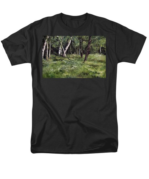 View From My Studio Men's T-Shirt  (Regular Fit) by Laurie Rohner