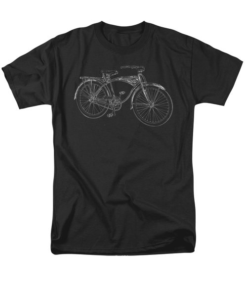 Vintage Bicycle Tee Men's T-Shirt  (Regular Fit) by Edward Fielding