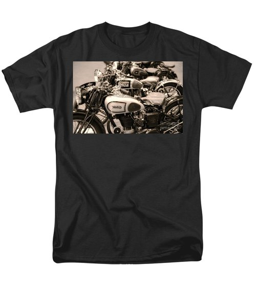 Vintage Motorcycles Men's T-Shirt  (Regular Fit) by Ari Salmela