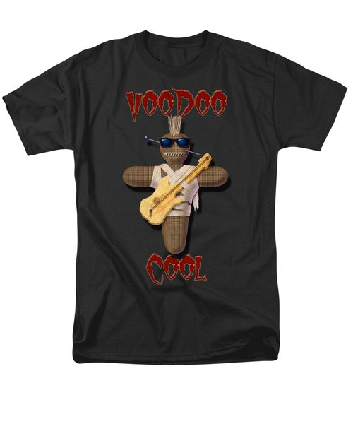 Men's T-Shirt  (Regular Fit) featuring the digital art Voodoo Cool by WB Johnston