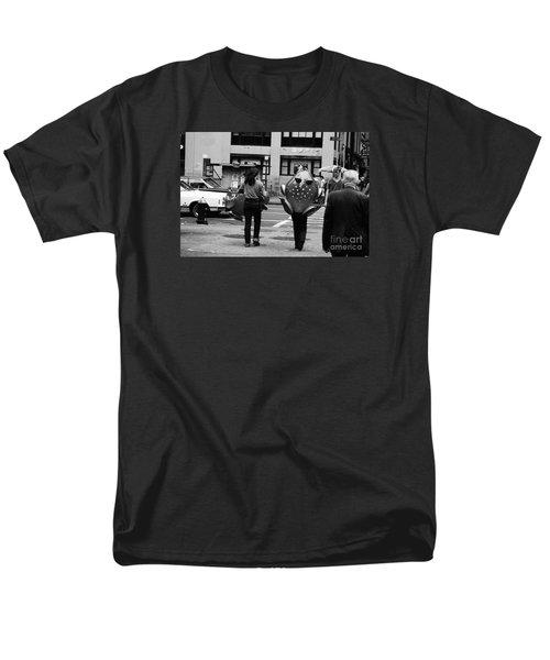 W 34th Men's T-Shirt  (Regular Fit) by Steven Macanka