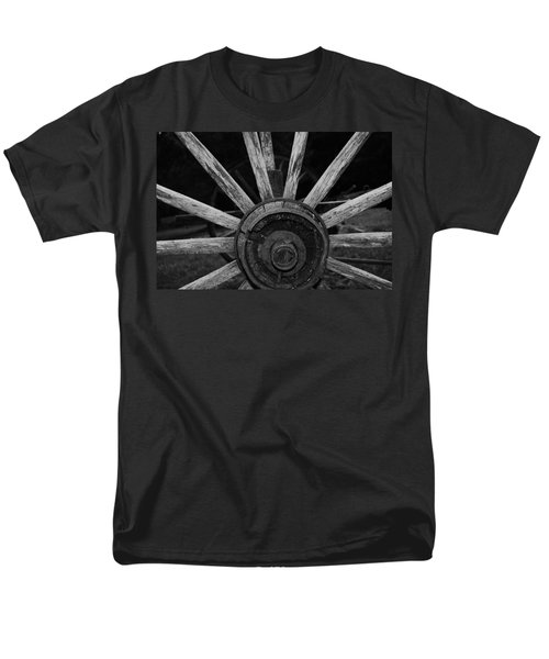 Wagon Wheel Men's T-Shirt  (Regular Fit) by Eric Liller