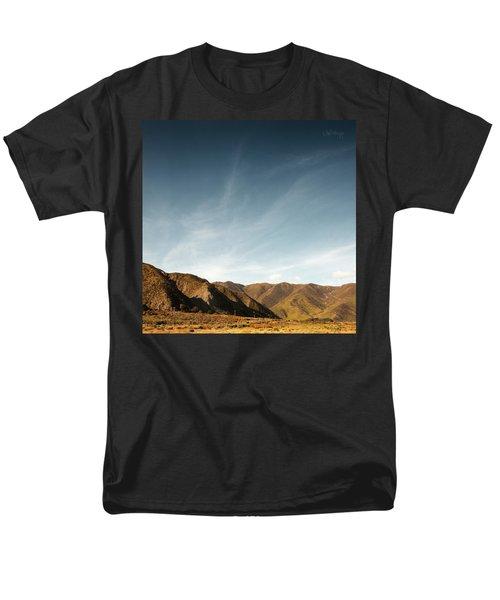 Wainui Hills Squared Men's T-Shirt  (Regular Fit) by Joseph Westrupp