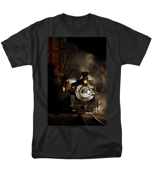 Waiting For More Coal Men's T-Shirt  (Regular Fit) by Ken Smith