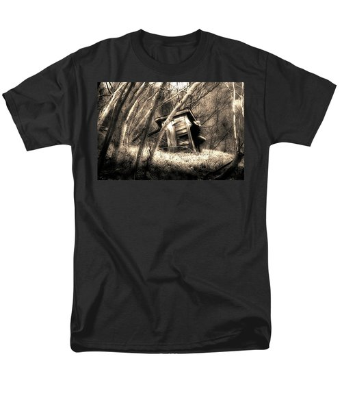 Men's T-Shirt  (Regular Fit) featuring the photograph Waiting... by Gray  Artus