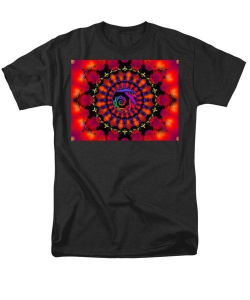Men's T-Shirt  (Regular Fit) featuring the digital art Wake by Robert Orinski