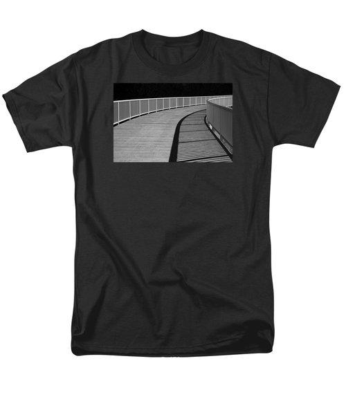 Men's T-Shirt  (Regular Fit) featuring the photograph Walkway by Chevy Fleet