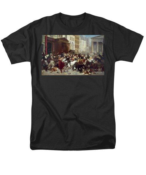 Wall Street: Bears & Bulls Men's T-Shirt  (Regular Fit) by Granger