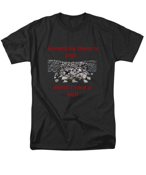 Men's T-Shirt  (Regular Fit) featuring the photograph Wall Transparent by R  Allen Swezey
