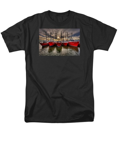 Wanchese Fish Company Men's T-Shirt  (Regular Fit) by Jerry Gammon