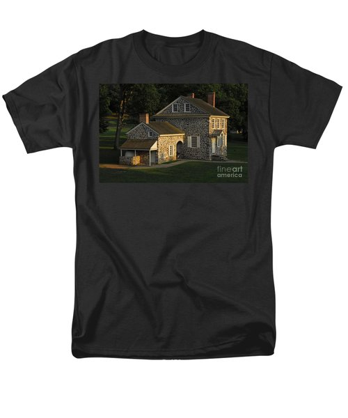 Washington's Headquarters At Valley Forge Men's T-Shirt  (Regular Fit) by Cindy Manero