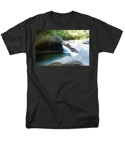 Men's T-Shirt  (Regular Fit) featuring the photograph Water-carved Rock by Kerri Mortenson