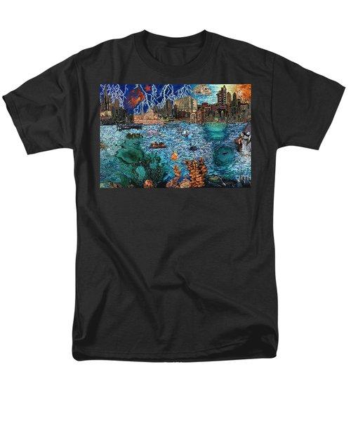 Water City Men's T-Shirt  (Regular Fit) by Emily McLaughlin