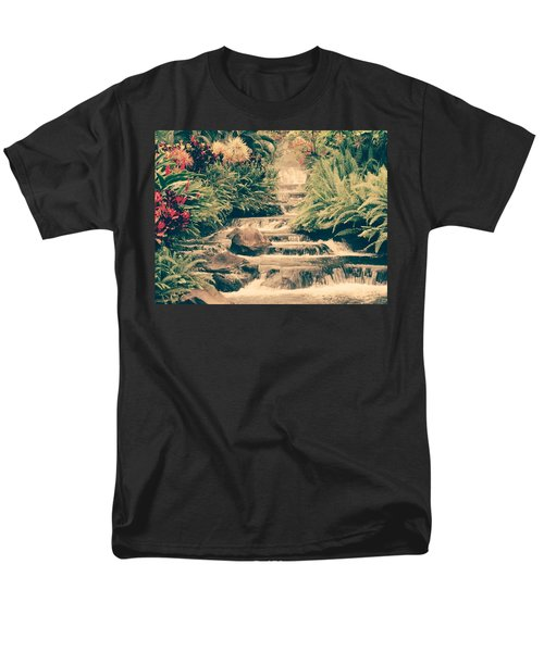 Water Creek Men's T-Shirt  (Regular Fit) by Sheila Mcdonald