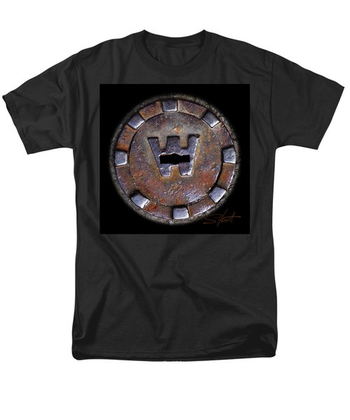 Water Hole 3 Men's T-Shirt  (Regular Fit) by Charles Stuart