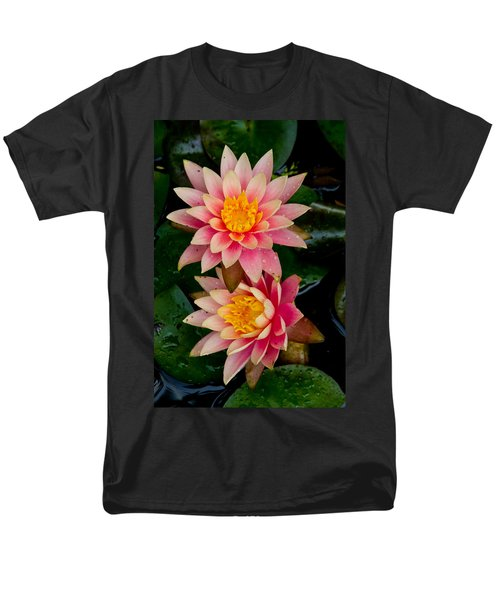 Water Lilies Men's T-Shirt  (Regular Fit) by Brent L Ander