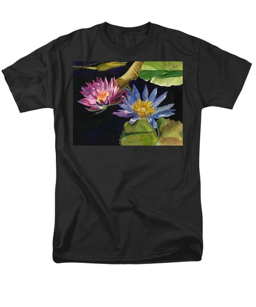 Water Lilies Men's T-Shirt  (Regular Fit) by Lynne Reichhart