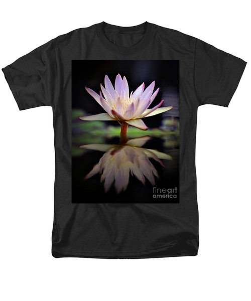 Men's T-Shirt  (Regular Fit) featuring the photograph Water Lily by Savannah Gibbs