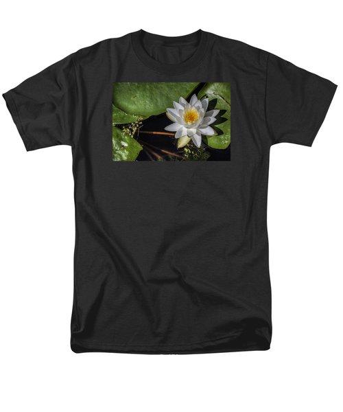 Water Lily Men's T-Shirt  (Regular Fit) by Steve Gravano