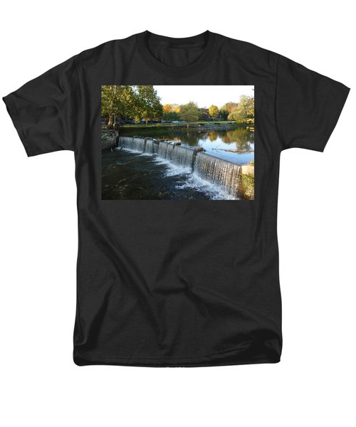 Water Over The Dam Men's T-Shirt  (Regular Fit) by Joel Deutsch